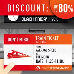 Swift Performance - Black Friday